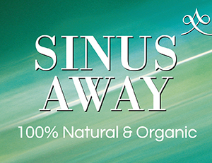 Sinus Away™ 100% Natural & Organic Therapeutic Grade Essential Oil